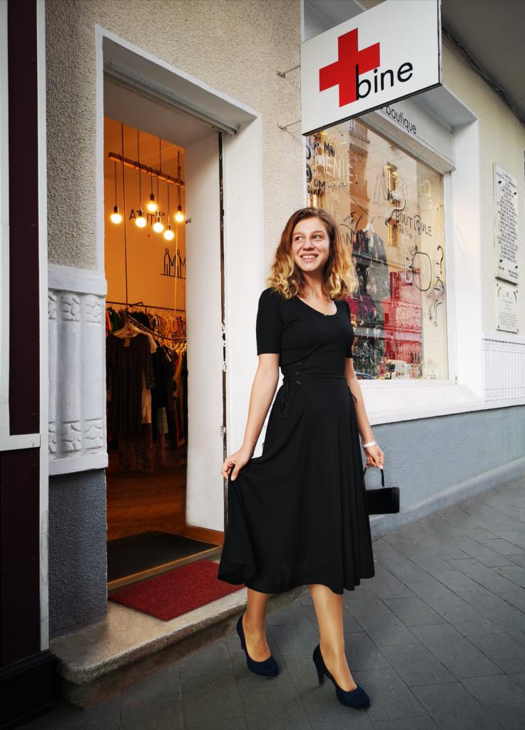The little black dress la Bine Boutique